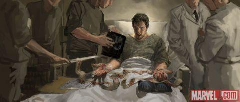 Dr Strange Concept Art 1