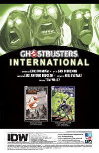 Ghostbusters Internation #1 pg 1