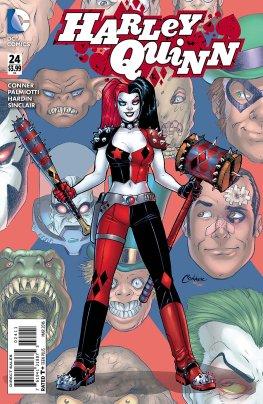 Harley Quinn 24 Cover