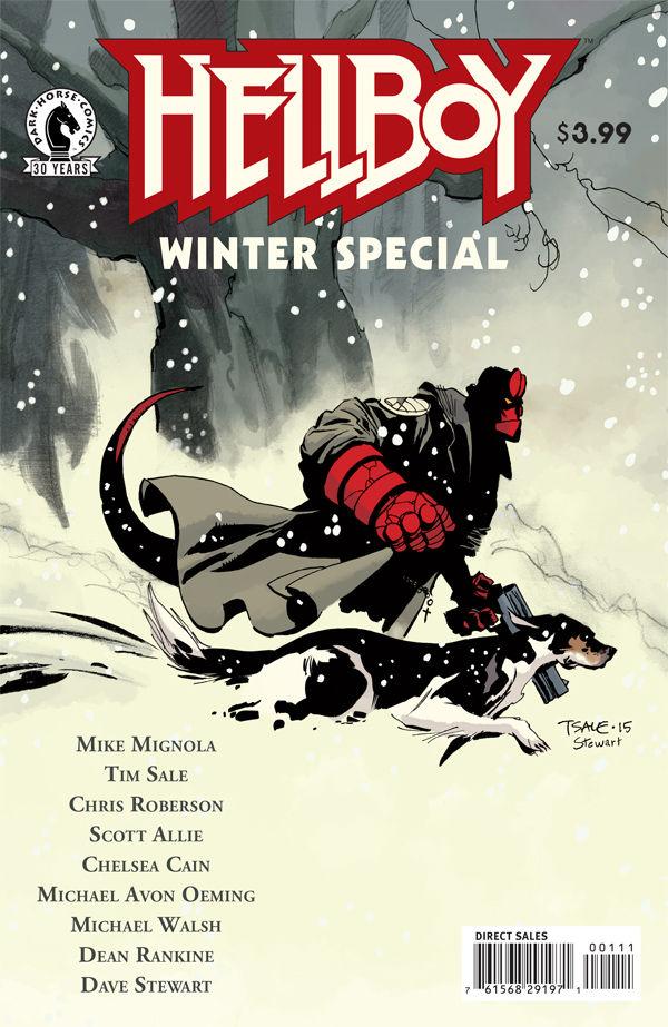 Hellboy Winter Special 2016 Cover