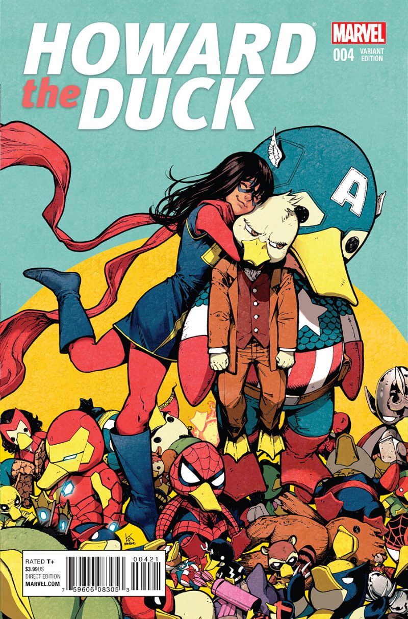 Howard the Duck #4 Cover 2