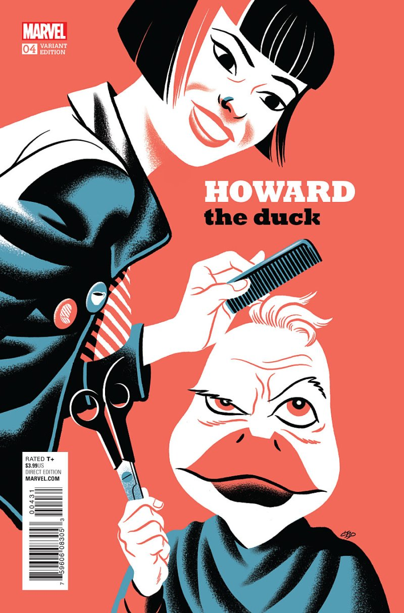 Howard the Duck #4 Cover 3