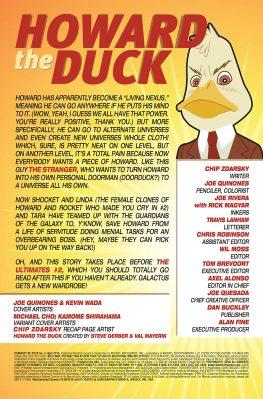 Howard the Duck #4 pg 1