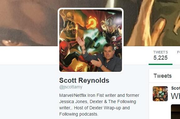 iron first twitter writer