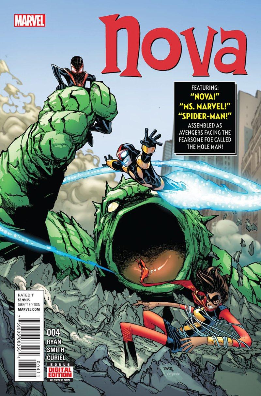 Nova #4 Cover
