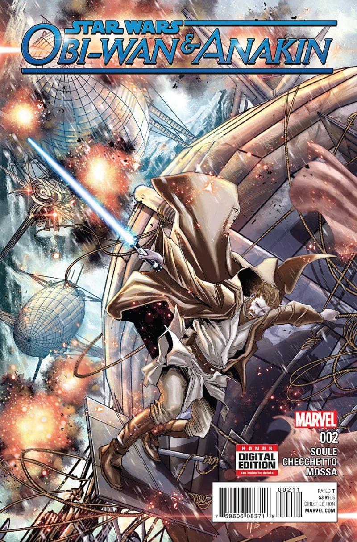 Obi-wan Anakin #2 Cover