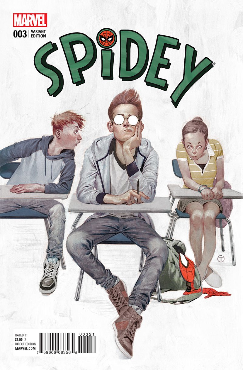 Spider #3 Cover 2