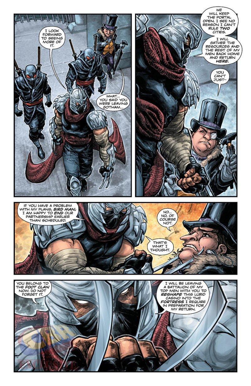 BATMAN:TEENAGE MUTANT NINJA TURTLES #3 pg 2