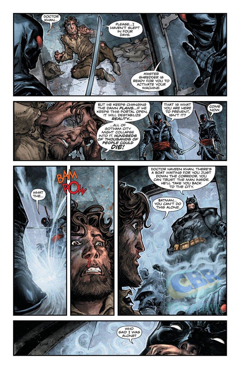BATMAN:TEENAGE MUTANT NINJA TURTLES #3 pg 3