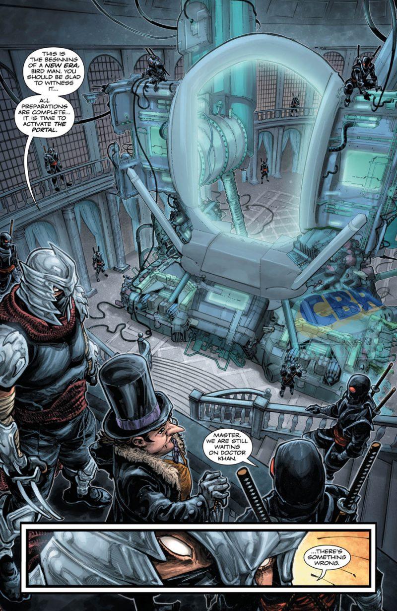 BATMAN:TEENAGE MUTANT NINJA TURTLES #3 pg 4