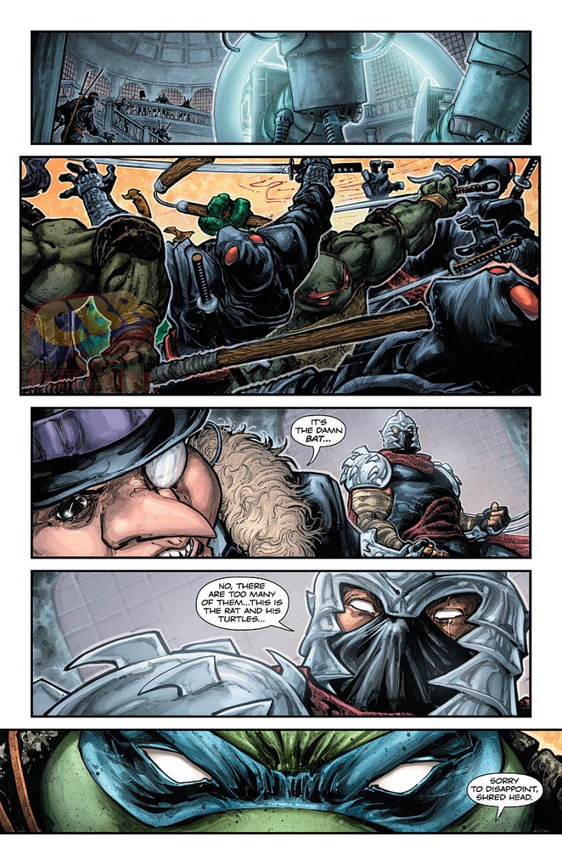 BATMAN:TEENAGE MUTANT NINJA TURTLES #3 pg 5