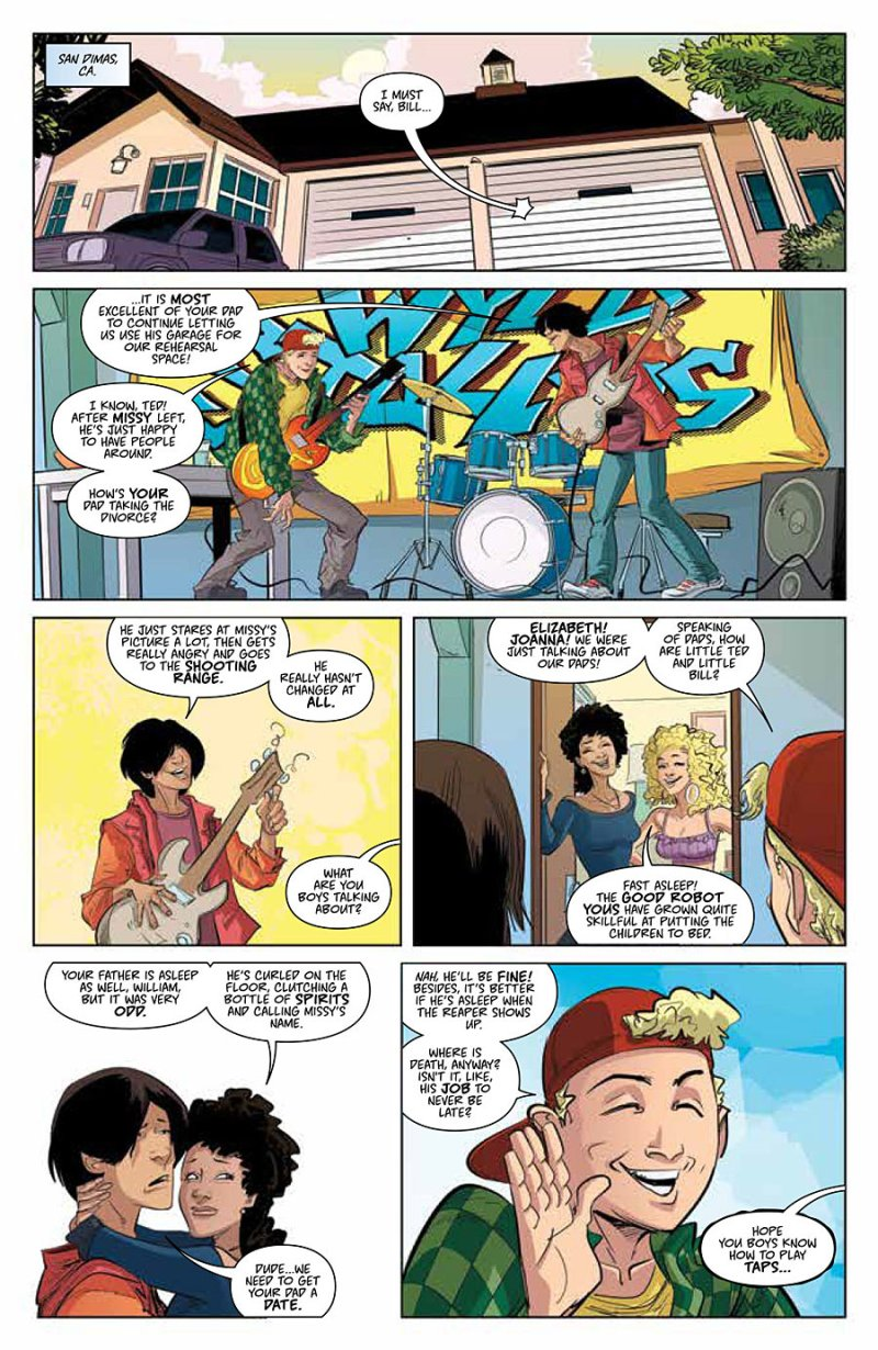Bill and Ted Go to Hell #1 pg 4