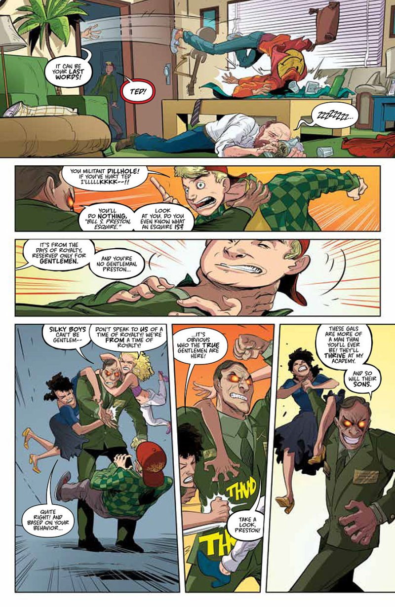 Bill and Ted Go to Hell #1 pg 6