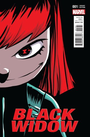 Black Widow #1 Cover 5