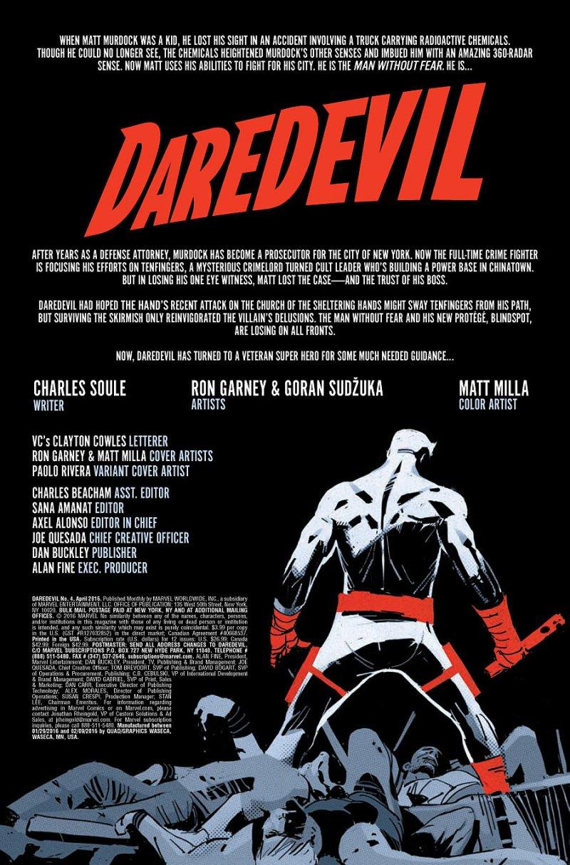 Daredevil #4 page 1