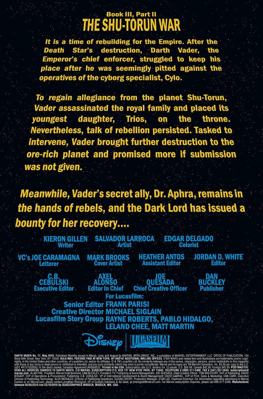 Darth Vader #17 page 1