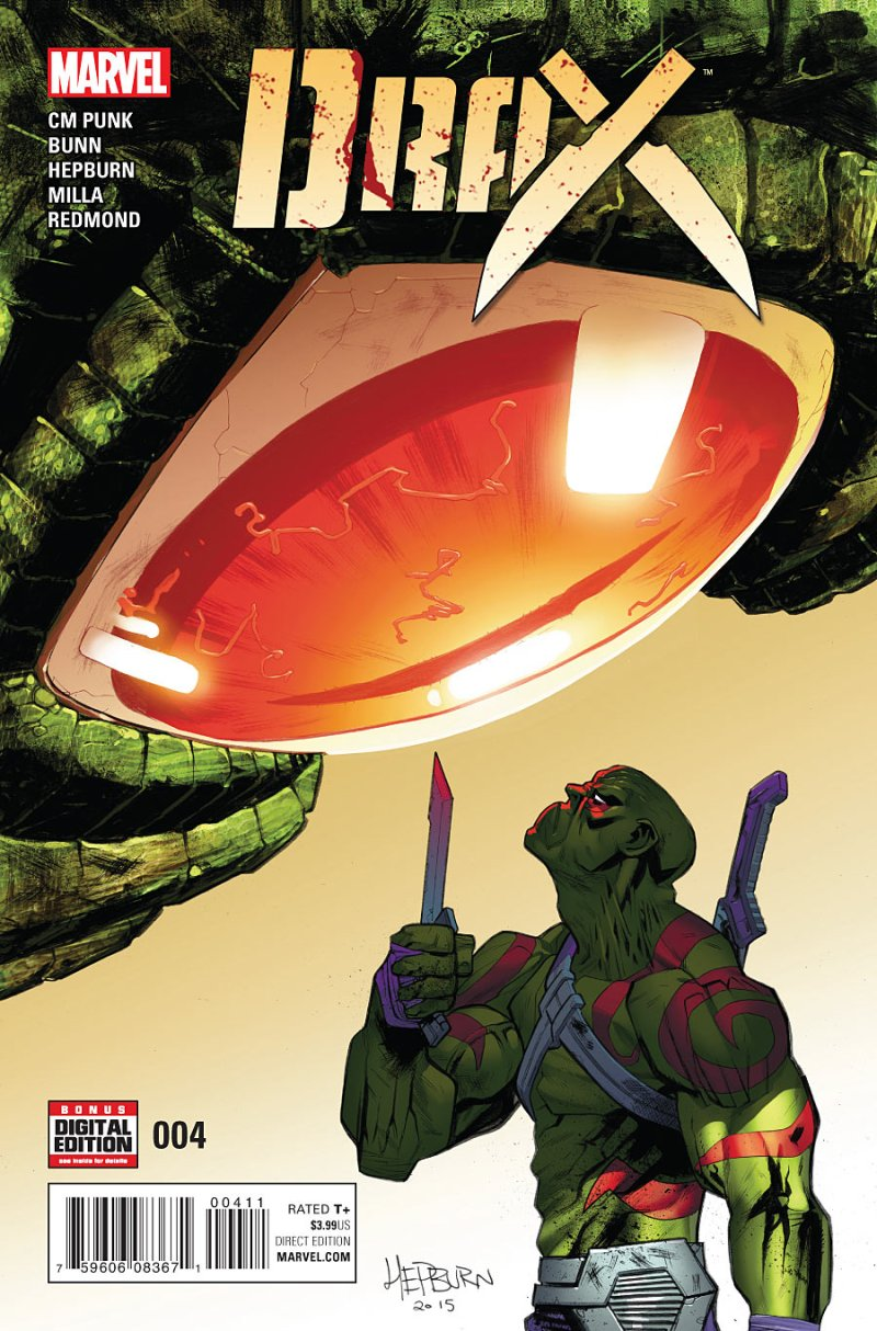 Drax #4 Cover