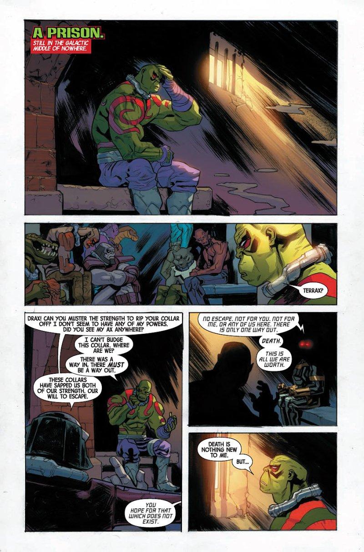 Drax #4 page 2