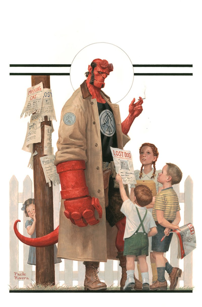HELLBOY AND THE B.P.R.D.- 1953 - BEYOND THE FENCES #1 Cover