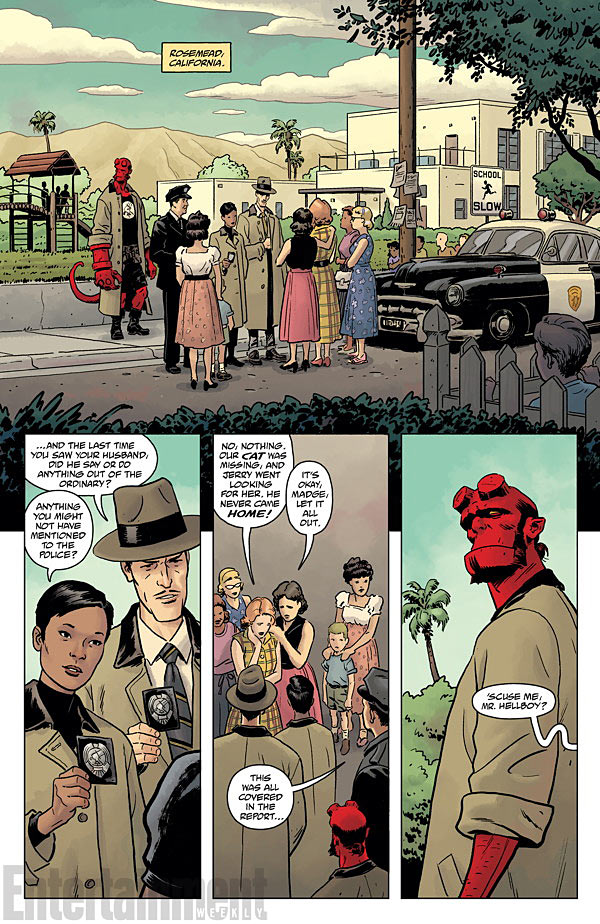HELLBOY AND THE B.P.R.D.- 1953 - BEYOND THE FENCES #1 page 2