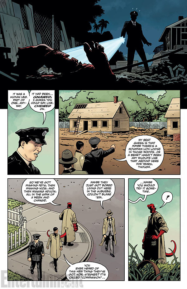 HELLBOY AND THE B.P.R.D.- 1953 - BEYOND THE FENCES #1 page 3