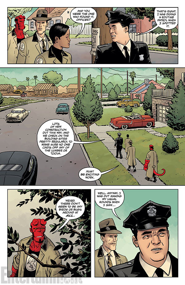 HELLBOY AND THE B.P.R.D.- 1953 - BEYOND THE FENCES #1 page 4