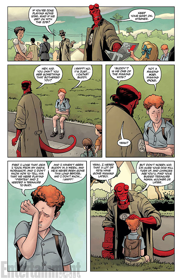 HELLBOY AND THE B.P.R.D.- 1953 - BEYOND THE FENCES #1 page 5