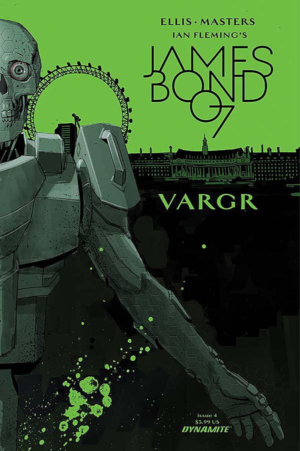 James Bond #4 Cover