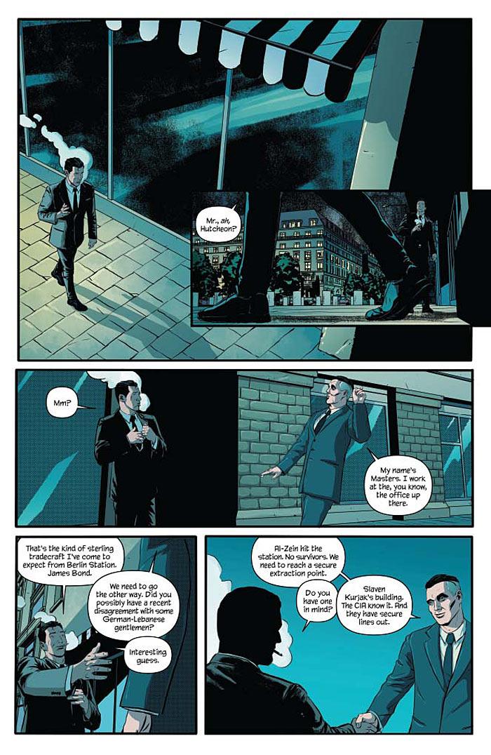 James Bond #4 pg 1