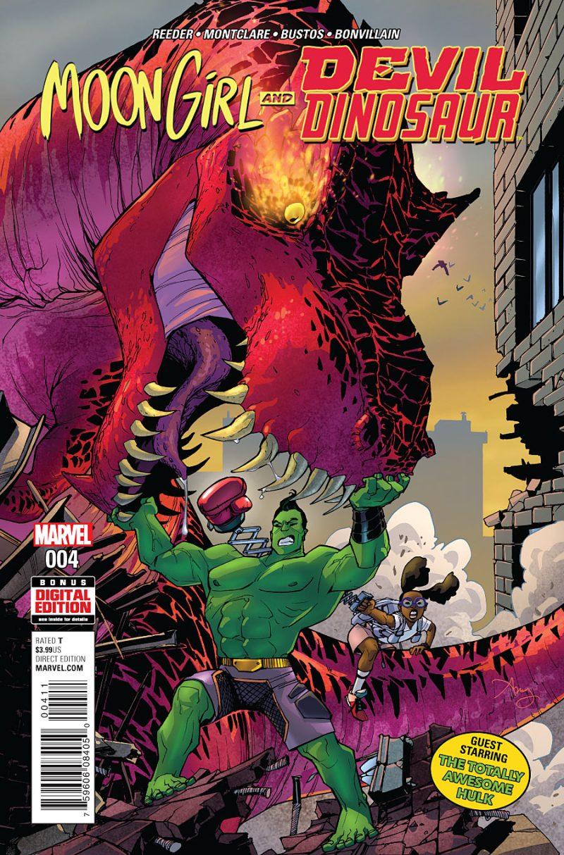 Moon Girl and Devil Dinosaur #4 Cover