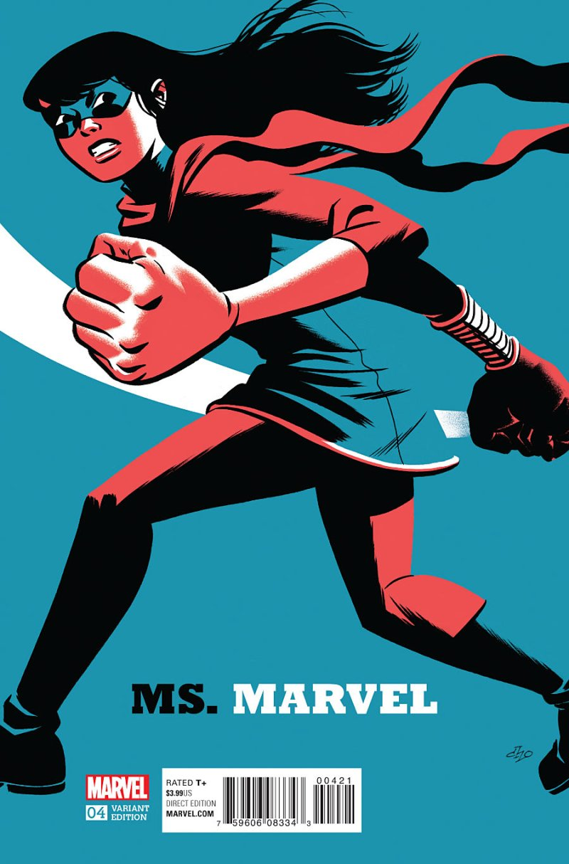 Ms Marvel #4 Cover 2