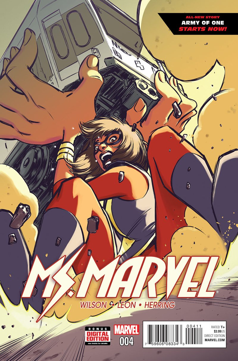 Ms Marvel #4 Cover