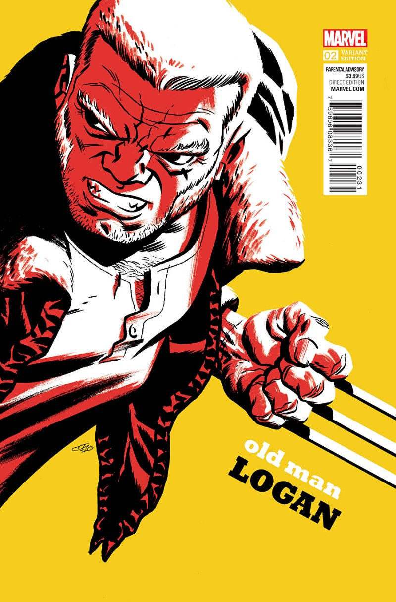 Old Man Logan #2 Cover 3