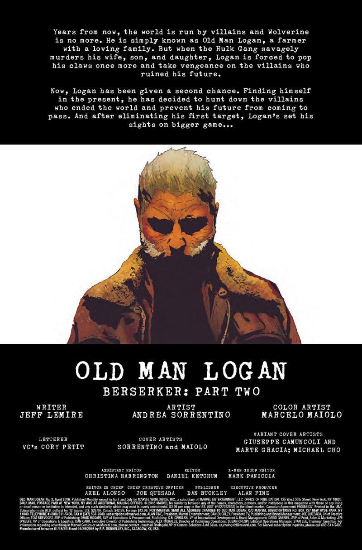 Old Man Logan #2 pg 1