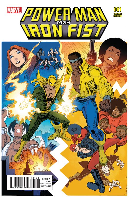 Power Man and Iron Fist #1 Cover 4