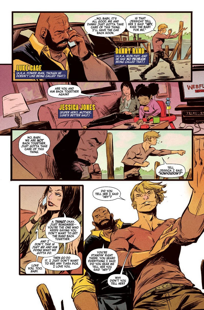 Power Man and Iron Fist #1 pg 2