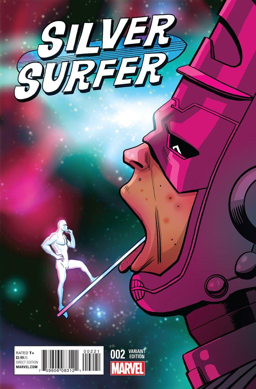 Silver Surfer #2 Cover 2