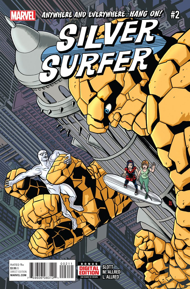 Silver Surfer #2 Cover
