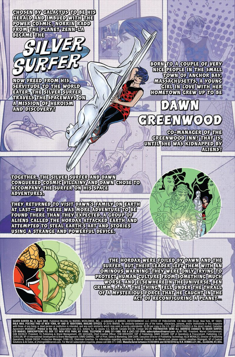 Silver Surfer #2 page 1