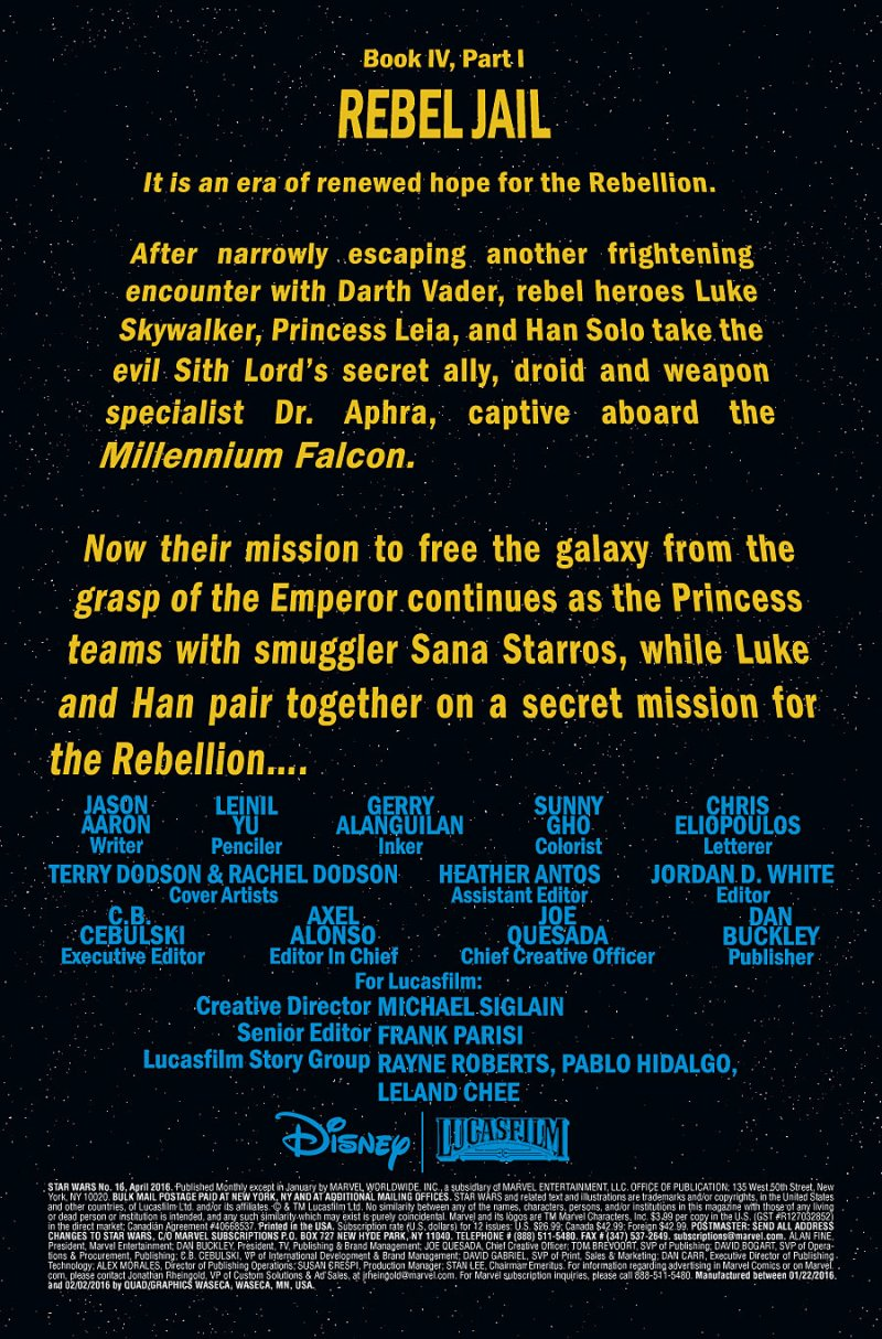 Star Wars #16 pg 1