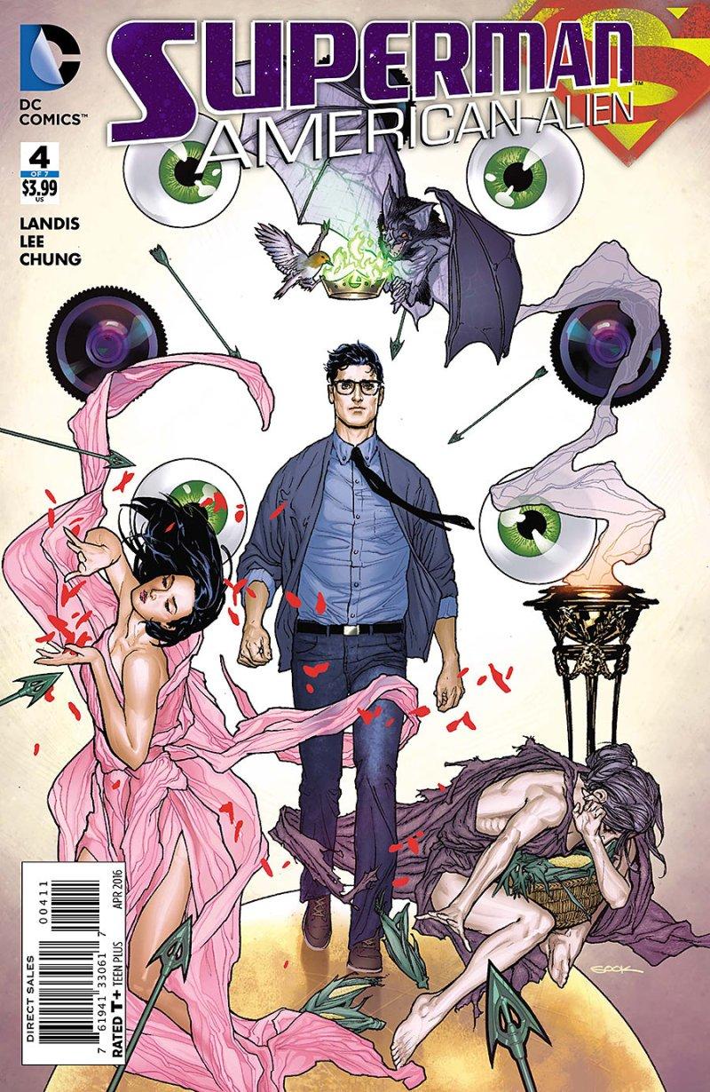 Superman American Alien #4 Cover