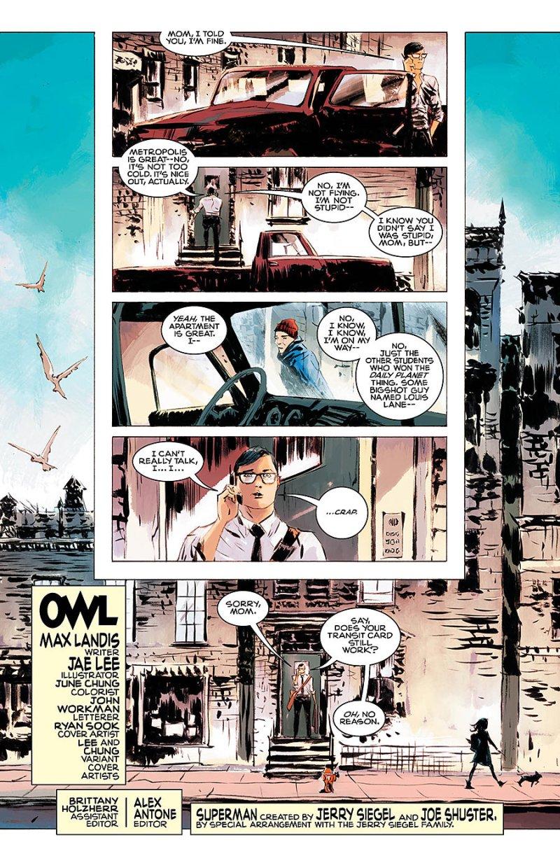 Superman American Alien #4 page 1