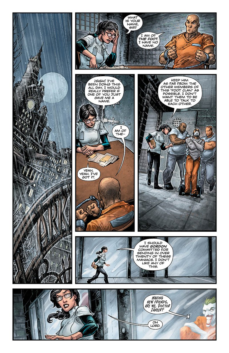 BATMAN:TEENAGE MUTANT NINJA TURTLES #4 page 1