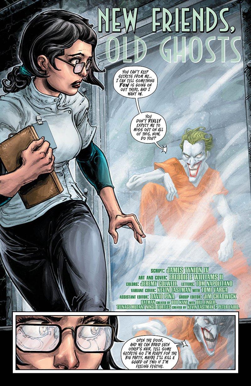 BATMAN:TEENAGE MUTANT NINJA TURTLES #4 page 2