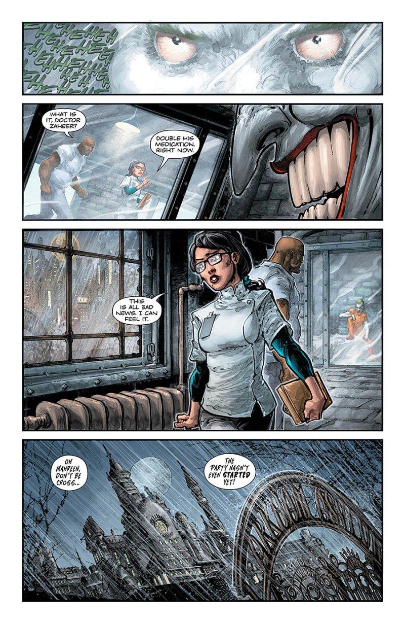 BATMAN:TEENAGE MUTANT NINJA TURTLES #4 page 3