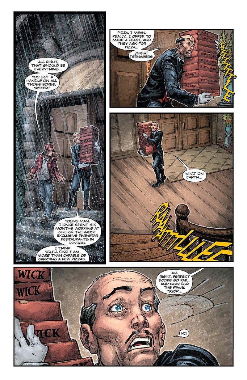 BATMAN:TEENAGE MUTANT NINJA TURTLES #4 page 4