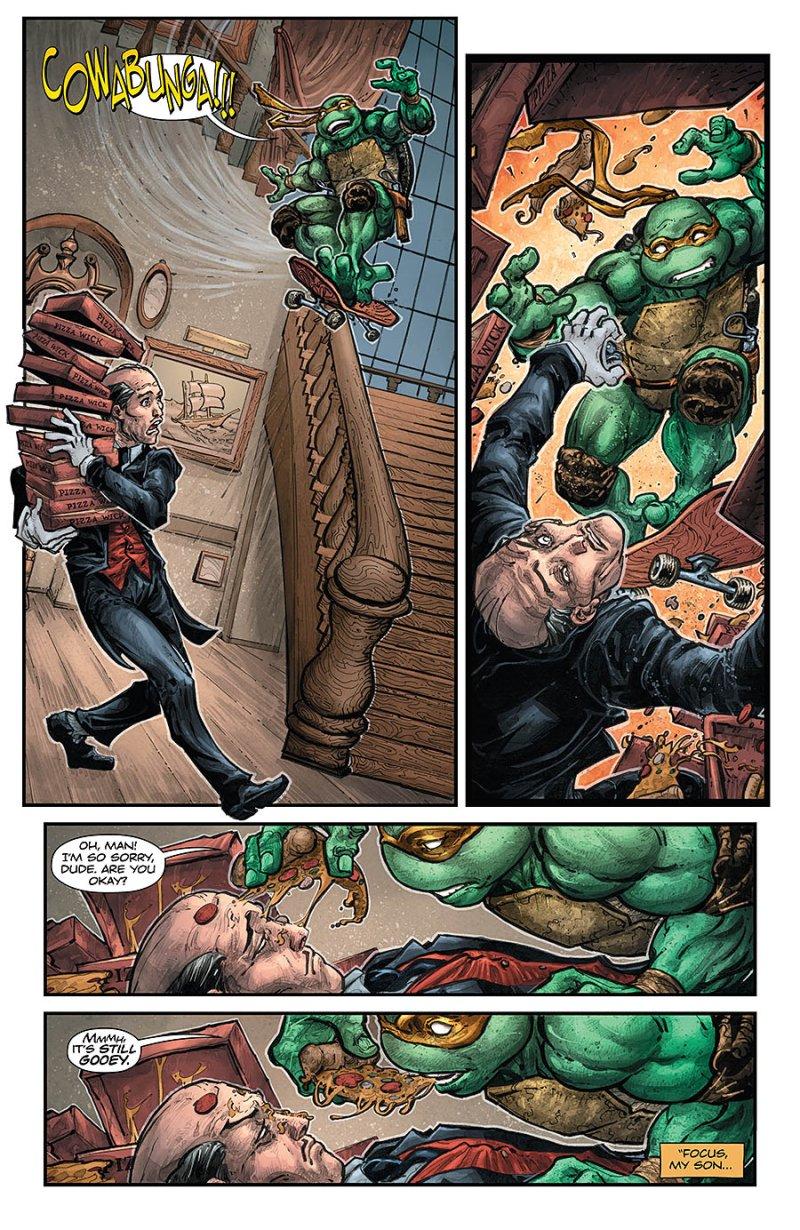 BATMAN:TEENAGE MUTANT NINJA TURTLES #4 page 5