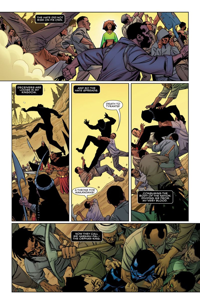Black Panther #1 page 4