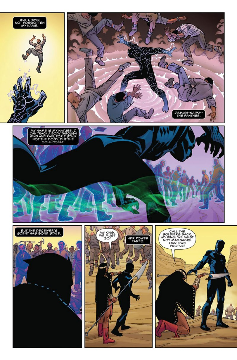 Black Panther #1 page 5