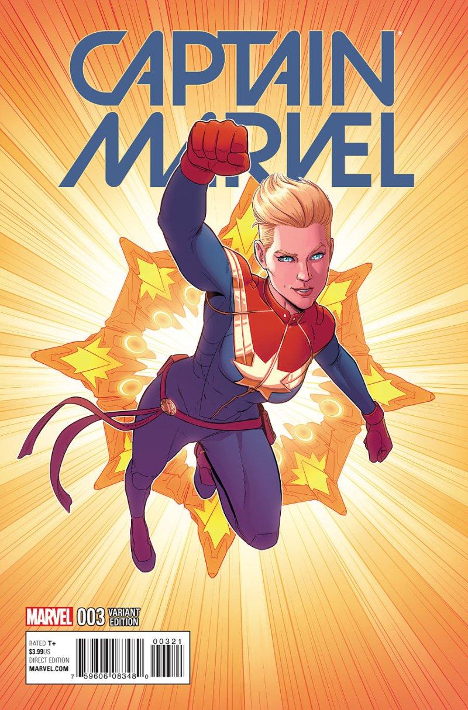 Captain Marvel #3 Cover 2
